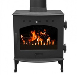 Carron 4.7kW Multi-Fuel / Wood Burning Stove - Matt Black