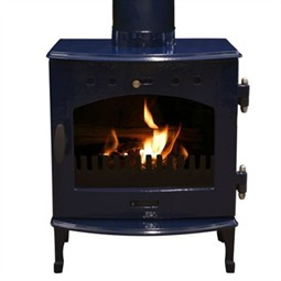 Carron 4.7kW Multi-Fuel / Wood Burning Stove - Blue Enamel