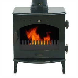 Carron 4.7kW Multi-Fuel / Wood Burning Stove - Green Enamel