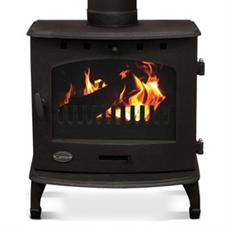 Carron 7.3kW Multi-Fuel / Wood Burning Stove - Matt Black
