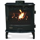 Carron 7.3kW Multi-Fuel / Wood Burning Stove - Green Enamel