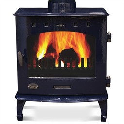 Carron 7.3kW Multi-Fuel / Wood Burning Stove - Blue Enamel