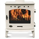 Carron 7.3kW Multi-Fuel / Wood Burning Stove - Cream Enamel