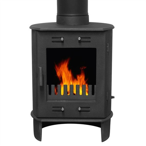 Carron Dante Multi-Fuel / Wood Burning Stove - Matt Black