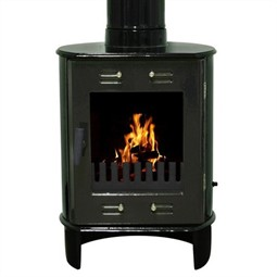 Carron Dante Multi-Fuel / Wood Burning Stove - Green Enamel