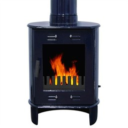 Carron Dante Multi-Fuel / Wood Burning Stove - Blue Enamel