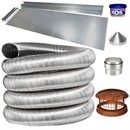 Complete Flue Liner Kit for Wood Burning Stoves - 125mm (5