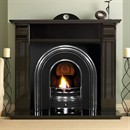 Pureglow Knighton Granite Fireplace Package (with Cast & Fire)