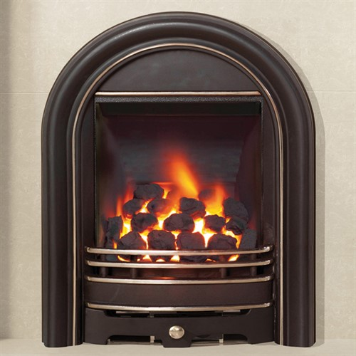 Be Modern Abbey Inset Gas Fire - Full Polished