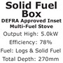 Integra Solid Fuel Box (DEFRA Approved)