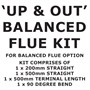 Balanced Flue Kit