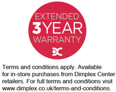 Dimplex Centre 3 Year Extended Warranty