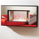 Be Modern Alonzo Wall Mounted Electric Fire (Mirror Finish)