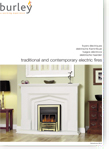 Burley Electric Fires Brochure 2013