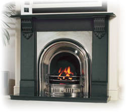 Cast Tec Granite Fireplace