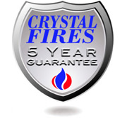 Crystal Fires Gas Fires 5 Year Guarantee