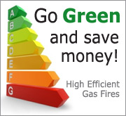 High Efficient Gas Fires