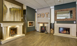 Fireplace Showroom Wood Burning Stoves