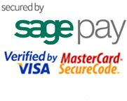 Secured by Sage Pay