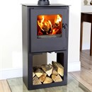 CLEARANCE Mendip Loxton 6 Pedestal Multifuel Stove