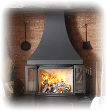 Nordpeis Fireplace Stove