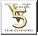 Verine 5 Year Warranty