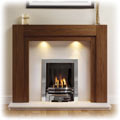 Winther Browne Como Wooden Fireplace