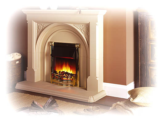 Stone Effect Fireplaces from Elan Fireplaces - Hotprice.co.uk