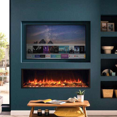 Inset Wall-Mounted Electric Fires
