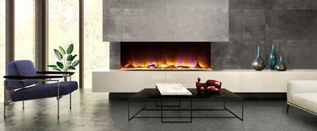 Amazing New 3-Sided Electric Fires from Celsi